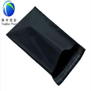 Schwarze Farbe Kurier Mail Taschen mit selbstklebend