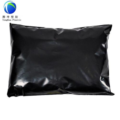 أكياس البريد الساعي اللون الأسود مع ذاتية اللصق