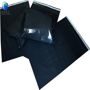 Black Color Courier Mail Bags with Self-adhesive