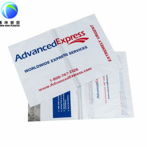 Kundengebundene Logo-Kurier-Postsäcke mit selbstklebendem 100% Jungfrau-Material
