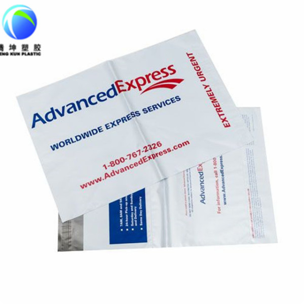 Customized Logo Courier Mail Bags with Self-adhesive 100% Virgin Material