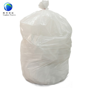 White Color Disposable Garbage Bag in Roll