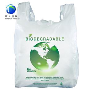 Sacs en plastique 100% biodégradables d'amidon de maïs