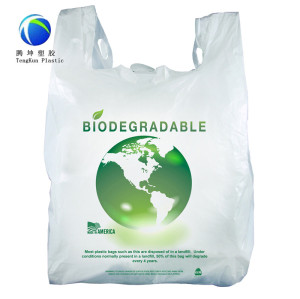 Biologisch abbaubare Plastiktaschen aus Maisstärke 100%