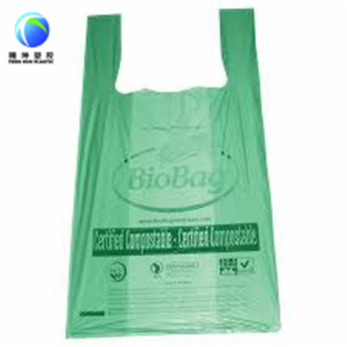Hecho en China 100% biodegradable bolsa de basura de maíz de 13 galones