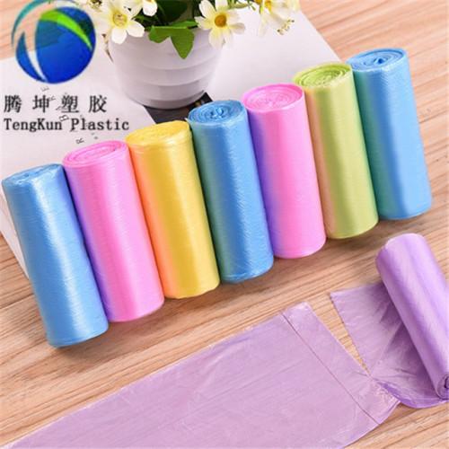Tipo de plástico de LDPE y sello de sellado térmico Bolsas de basura de 55-60 galones