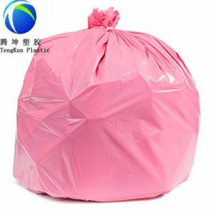 Grands sacs de poubelle commerciaux de gallon de couleur faite sur commande de taille