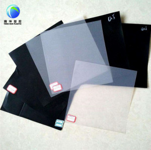 China Factory 2 mm hdpe geomembrane manufacturers white pond liner