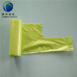 Made in China Trash Bag biodegradabile al 100% biodegradabile da 13 galloni