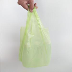 ผลิตภัณฑ์ใหม่ถุงขยะมูลฝอยที่ย่อยสลายได้ทางชีวภาพ 100% ที่สามารถย่อยสลายได้ทางชีวภาพ