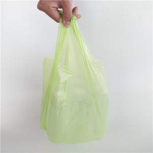 New Products 100% Biodegradable Compostable Cornstarch Garbage Bags