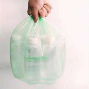 Forro de Lata de Lixo para Lixo Reforçado Preto de 60 Litros