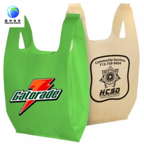 El plástico 100% biodegradable de las materias primas plásticas del almidón de maíz que hace compras empaqueta bolsos al por mayor