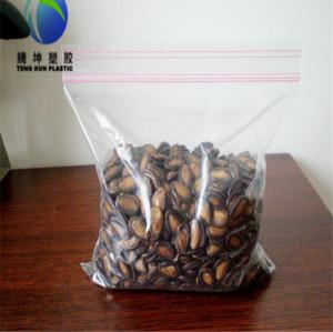 Virgin Material Small Wholesale Festival Items Printed Plastic Ziplock Bags