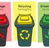 تصنيف كيس القمامة واستخدام ذكي من أكياس القمامة