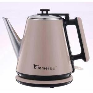Factory price Cordless 304 Stainless Steel  and new PP Electric Kettle 1.2L