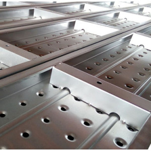 Q235B Q345B Steel Scaffolding Platform Metal Planks from China Factory