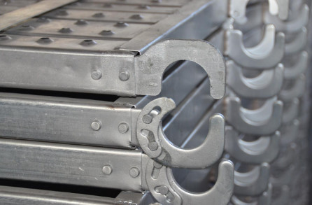 Q235B Q345B Steel Scaffolding Platform Metal Planks from China Factory