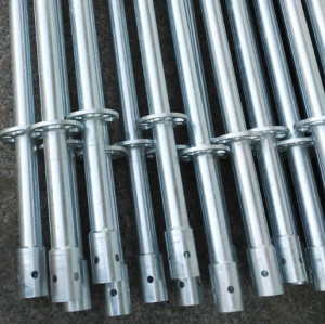Q345B/235B Hot Dipped Galvanized Safey Scafolding Ringlock System for Construction