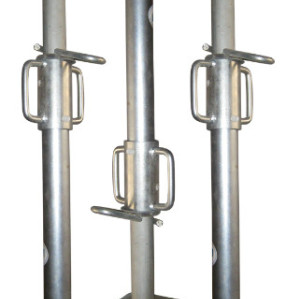 Metalicas hot dipped galvanized adjustable steel shoring prop