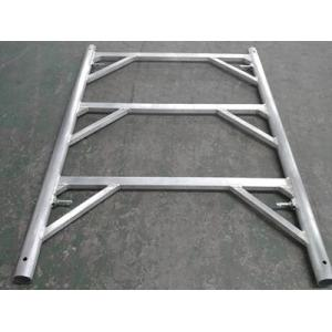 Walking through painting ladder frame system H frame scaffolding