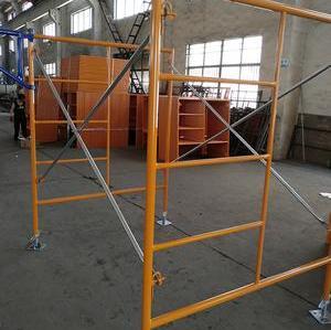 Best Selling Australia Scaffold Price Tubular Steel Construction System Building Step Ladder A Box Frame Scaffolding