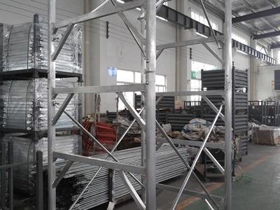Marco de acero de andamio principal y pasarela tabla fabricante en China