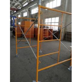 Colgante de alta calidad neumática andamios h marco Cálculo de carga Ruedas