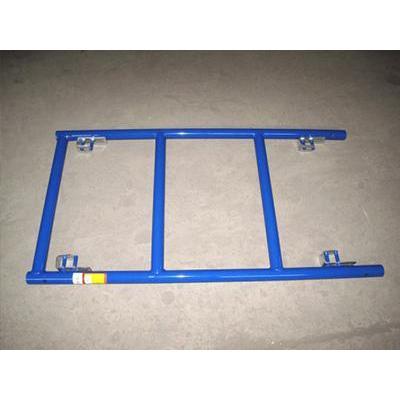 TIANDI principal de acero de andamio HDG escalera un marco andamio para la construcción