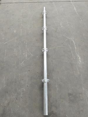 Precio de fábrica Ringlock libro Q345/Q235 de acero galvanizado libro termina con la cabeza para la construcción