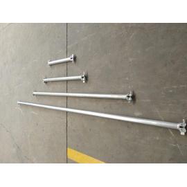Galvanizado Ringlock sistema de entibación anillo de acero cerradura andamios para la construcción
