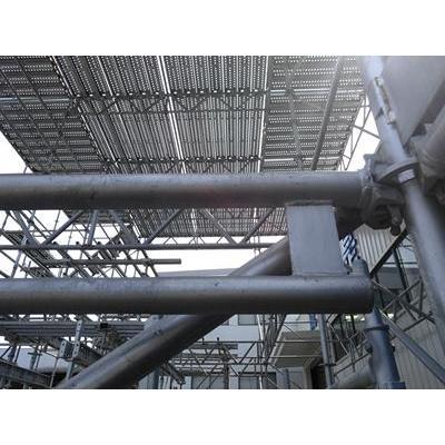 Precio de fábrica de acero HDG andamios Ringlock riostra Diagonal de TIANDI