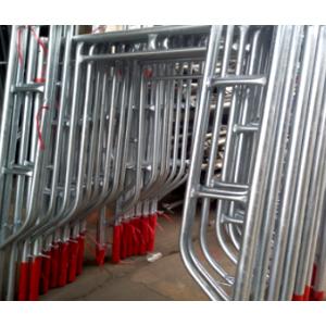 Q195 Q235 pre-galvanized Highly Quality Scaffolding Walk Through ladder Frame