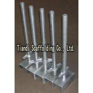 Galvanized Modular Scaffolding Base Jack