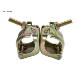 Steel material forged scaffolding clamp swivel coupler parts