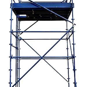 Q345 Galvanized Steel Kwikstage Scaffolding System for Sale