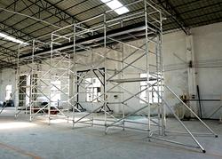 High Grade Aluminum Mobile Scaffolding, Tower scaffolding
