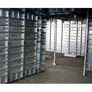 Aluminium Metal Permanent Steel Formwork Scaffolding