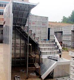 Light Weight Aluminium Concrete Formwork Panels Used In Construction