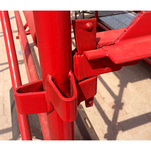 Australian type construction Kwikstage / K-stage scaffold ledger heavy Duty Quick stage scaffolding system