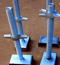 Construction Use For Scaffolding Quality Strong Q235/325/195 Steel Scaffolding Jack Base