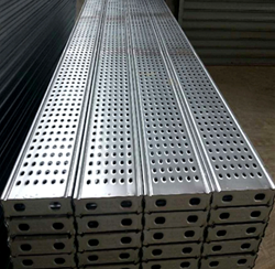 Galvanized Perforated Deck Metal Construction Stainless Deck Scaffolding Steel Plank