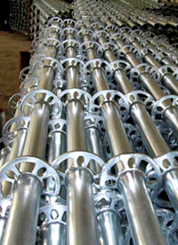 Construction Equipment Cuplock Standard Scaffolding System
