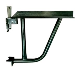 Board tubular scaffold cantilever bracket for Ring Lock Scaffolding System