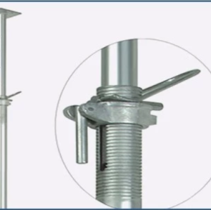 Adjustable steel scaffolding uprights push pull props for sale