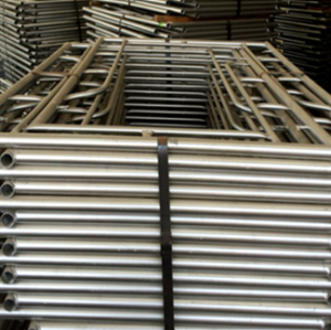 Good Quality A Frame Scaffolding Speed Lock Steel Frame Scaffold For Construction
