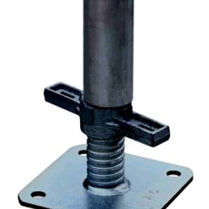 Hot sale adjustable scaffolding swivel jack base plate