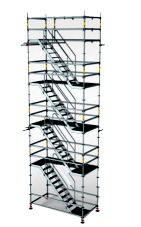China factory SGS certified Q345 galvanized Ringlock System Scaffolding manufacturer