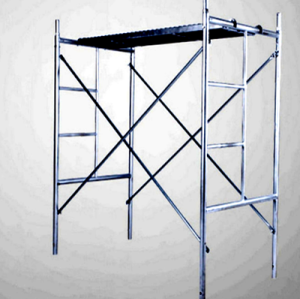 Galvanized Quality Factory Supplying Mason Frame Scaffolding ladder Frame scaffolding for Buildings