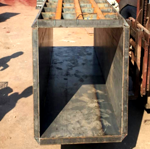 Scaffolding Painted Reusable Concrete Steel Column Formwork
